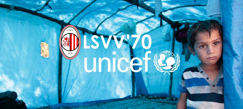 Samenwerking LSVV '70 en UNICEF