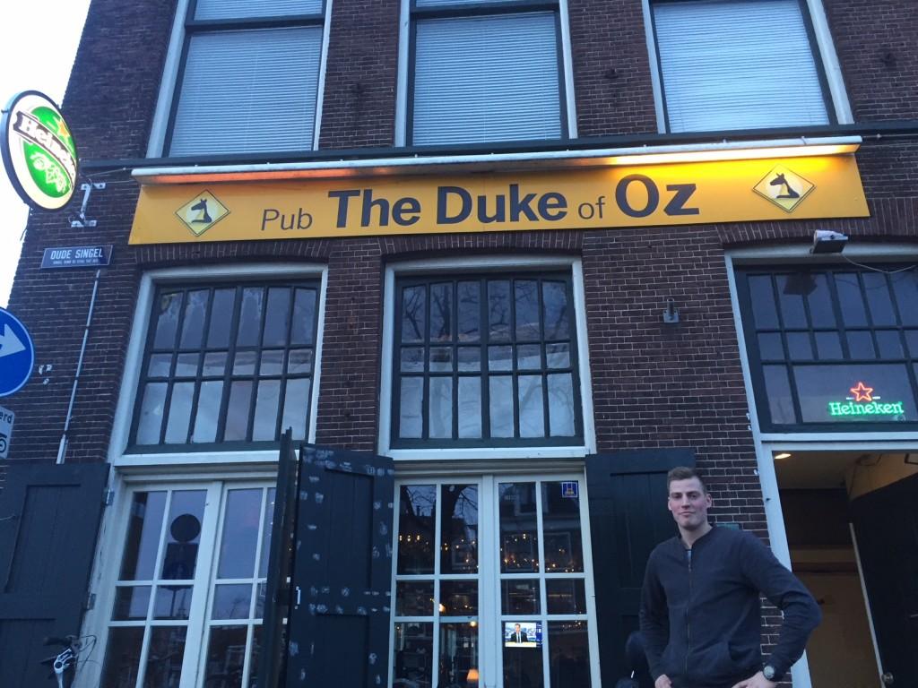 Van Kessel - eerder het gezicht van reclamecampagnes van L'Oreal, NIVEA, Adidas en Gamma - presenteert zich als nieuw gezicht van The Duke of Oz.