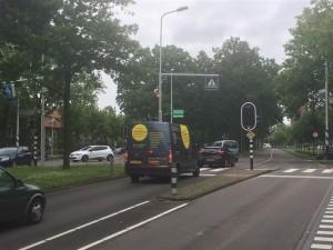 De Lammenschansweg, met links de middenberm waar FF VR3 de trainingen zal afwerken dit seizoen. Stipt 20.00 uur omgekleed ter hoogte van de flitspaal, dames!